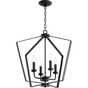 Greenfield Black Four-Light Pendant