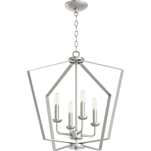 Greenfield Satin Nickel Four-Light Pendant