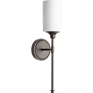 Kingsbury Oiled Bronze Five-Inch One-Light Wall Sconce