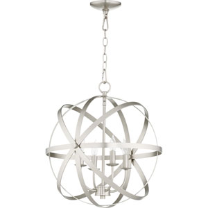 Kingsbury Satin Nickel Four-Light Pendant