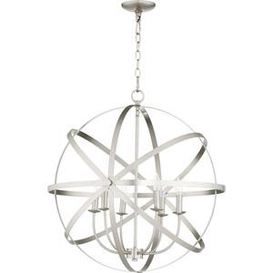 Kingsbury Satin Nickel Six-Light Pendant