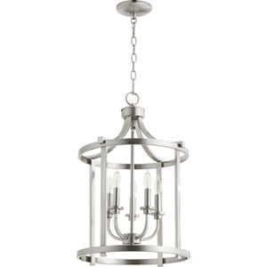 Manchester Satin Nickel Five-Light Pendant