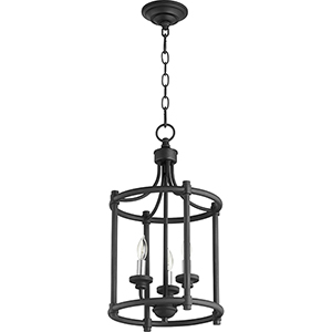 Manchester Black Three-Light Pendant