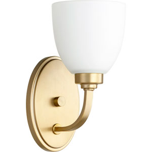Mansfield Aged Brass One-Light Wall Sconce