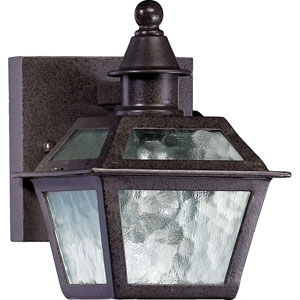 Marquette Oiled Bronze With Antique Gold Six-Inch One-Light Outdoor Wall Lighting