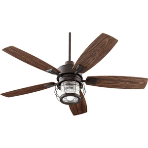 Woodland Oiled Bronze 52-Inch One-Light Ceiling Fan