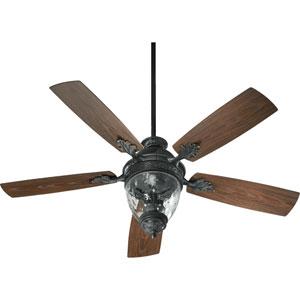 Woodland Bronze 52-Inch Three-Light Ceiling Fan