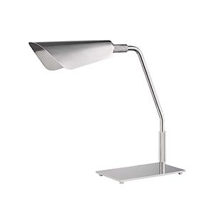 Blake Polished Nickel One-Light LED Table Lamp