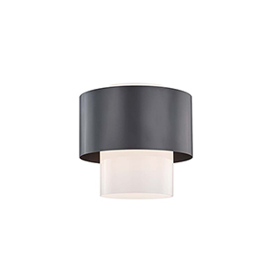 Marli Old Bronze One-Light Flush Mount