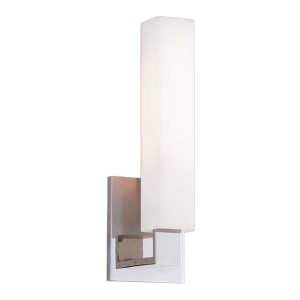 Emerson Polished Nickel One-Light Wall Sconce