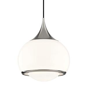 Jordan Polished Nickel One-Light Pendant