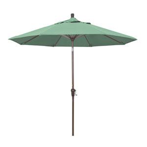 9 Foot Umbrella Aluminum Market Auto Tilt Champagne/Pacifica/Spa