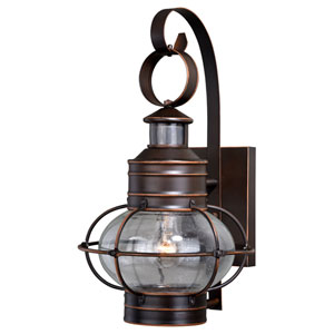 Chatham Burnished Bronze 18-Inch One-Light Outdoor Wall Mount