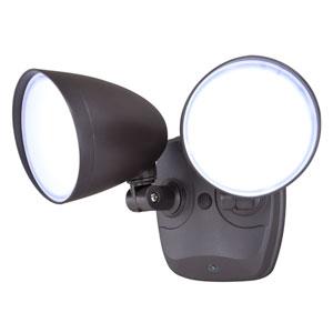 Tau White LED Outdoor Security Light