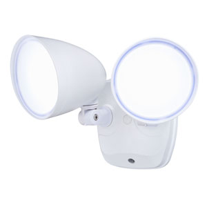 Tau Bronze LED Outdoor Security Light