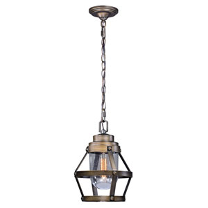 Bruges Parisian Bronze One-Light Outdoor Pendant