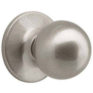 Ball Satin Nickel Reversible Dummy Door Knob