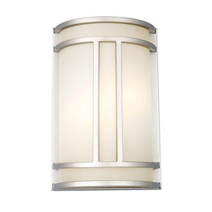Easton Two-Light Satin Nickel Adam Wall Sconce