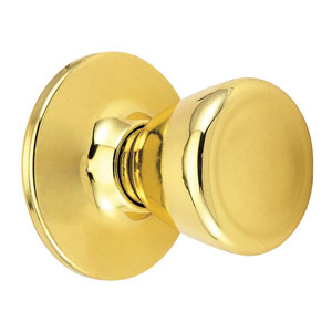 Tulip Polished Brass Reversible Dummy Door Knob