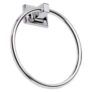 Millbridge Polished Chrome Towel Ring
