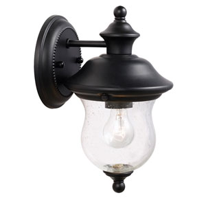 Highland Black Outdoor Wall Mounted Light