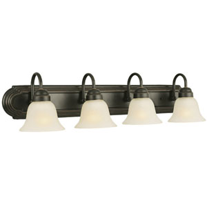 Allante Oil Rubbed Bronze Four-Light Bath Fixture