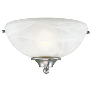 Millbridge Satin Nickel Single-Light Wall Sconce