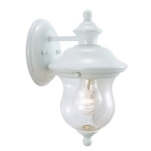 Highland White Outdoor Wall Mounted Light