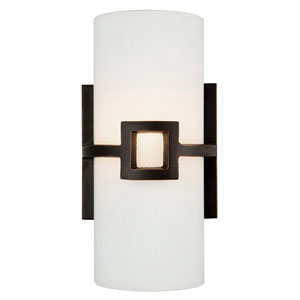 Monroe Oil Rubbed Bronze One-Light Wall Sconce