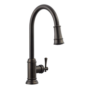 Ironwood Kitchen Faucet with Pullout Sprayer