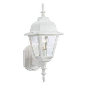 Maple Street White Outdoor Uplight