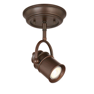 Sheridan Single-Light LED Directional Ceiling Light, Oil Rubbed Bronze