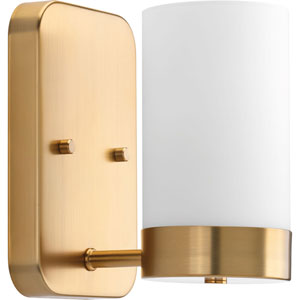 P300020-109: Elevate Brushed Bronze One-Light Bath Sconce