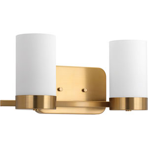 P300021-109: Elevate Brushed Bronze Two-Light Bath Sconce