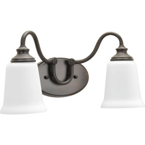 P300025-074: Wander Venetian Bronze Two-Light Bath Sconce