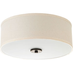 P3696-2030K9: Inspire Antique Bronze Energy Star One-Light LED Flush Mount