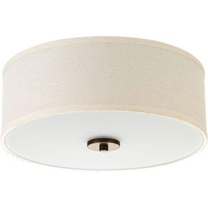 P3712-20: Inspire Antique Bronze Two-Light Flush Mount