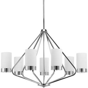 P400023-015: Elevate Solid Copper Seven-Light Chandelier