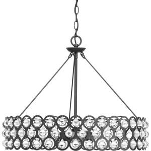 P500004-143: Vestique Graphite Six-Light Pendant