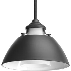 P500013-143: Carbon Graphite One-Light Pendant