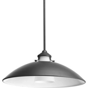P500014-143: Carbon Graphite One-Light Pendant