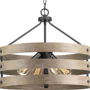 P500023-143: Gulliver Graphite Four-Light Pendant