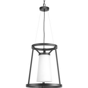 P500026-143: Mobi Graphite One-Light Pendant