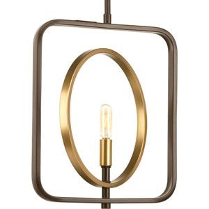 P500027-020: Swing Antique Bronze One-Light Pendant