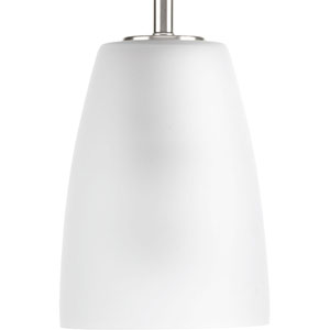 P500029-009: Leap Brushed Nickel One-Light Mini Pendant