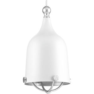 P500032-030: Era White One-Light Mini Pendant