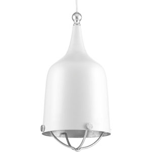 P500033-030: Era White One-Light Mini Pendant