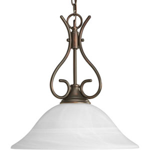 P5091-20: Antique Bronze One-Light Pendant