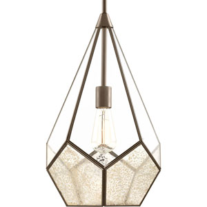 P5319-20: Cinq Antique Bronze One-Light Pendant