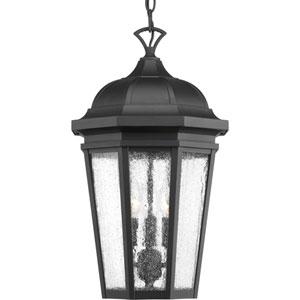 P550002-031: Verdae Black Three-Light Outdoor Hanging Lantern